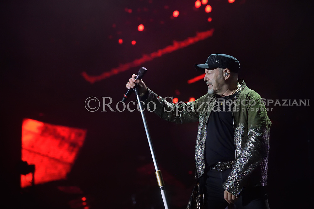 Italian singer and songwriter, Vasco Rossi performing live on stage during his 'Vasco Non Stop Tour 2018' at Olympic Stadium.Rome, Italy. June 16, 2018