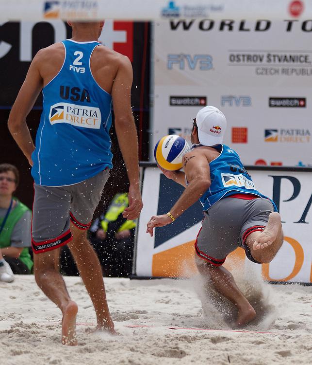 Swatch FIVB Patria Direct Open 2010 - USA vs ESP