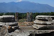 Restoration of the Center City of Philippi near  Kavalla, Greece. <br /><br />Photo by Dennis Brack