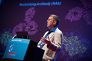 7th IAS Conference on HIV Pathogenesis, Treatment and Prevention (IAS 2013), Kuala Lumpur, Malaysia.<br /> Photo shows Denis Burton, United States, speaking on 'Vaccine: New Developments in Protecting Antibodies'.<br /> Photo © Steve Forrest/Workers' Photos