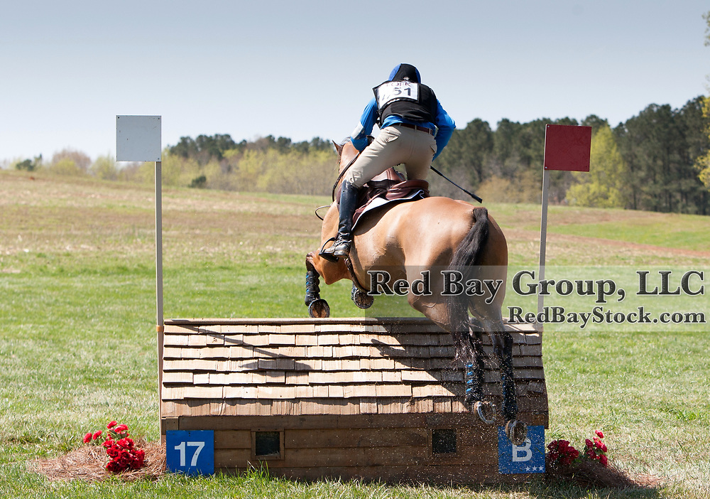 Phillip Dutton and Fernhill Fugitive at 2013 The Fork Horse Trials in Norwood, NC.