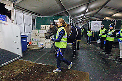 Favourit of Swedens Tinne Vilhelmson Silfven<br /> Departure of the horses from Liege Airport to Lexington<br /> Alltech FEI World Equestrian Games - Kentucky 2010<br /> © Dirk Caremans