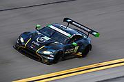 January 21-24, 2021. IMSA Weathertech Series. ROAR before Daytona. Qualifying race:  #23 Heart Of Racing Team, Aston Martin Vantage GT3, Ian James, Darren Turner, Ross Gunn, Roman De Angelis