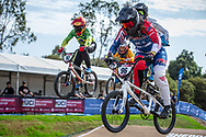 #96 (WALKER Sarah) NZL at Round 1 of the 2020 UCI BMX Supercross World Cup in Shepparton, Australia