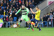 Oxford United v Forest Green Rovers 061215