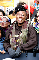 shola mos-shogbamimu at March4Women 2020 rally at Southbank Centre on March 08, 2020 in London, England. The event is to mark International Women's Day photo by Roger Alarcon