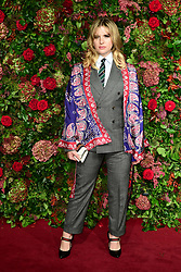 Hari Nef attending the Evening Standard Theatre Awards 2018 at the Theatre Royal, Drury Lane in Covent Garden, London