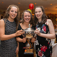 Miltown Malbay Minor Footballers Ciara Malone, Anna Lineen and Lucy Haran