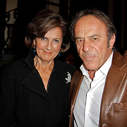 NLD/Amsterdam/20120217 - Premiere Saturday Night Fever, Sylvia Toth en partner