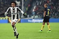 Esultanza Gol Juan Cuadrado Juventus goal celebration <br /> Torino 05-02-2017, Juventus Stadium, Football Calcio 2016/2017 Serie A, Juventus - Inter, Foto Image Sport/Insidefoto