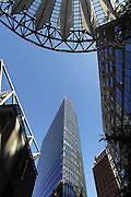 Duitsland, Berlijn, 22-8-2009 Het Sonycenter aan de Potsdamer Platz.  Sony Center. Bahntower,db,db tower, db-towerFoto: Flip Franssen/Hollandse Hoogte