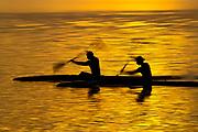 Covid-19 Level 3 - Flat water sprint canoeists, train at Lake Pupuke, Takapuna, during the 1st day of Covid-19 Level 3 Lockdown. Auckland, New Zealand.  28  April  2020       Photo: Brett Phibbs / www.photosport.nz