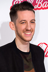 © Licensed to London News Pictures. 03/12/2016. SIGALA attends Capital's Jingle Bell Ball with Coca-Cola at London's O2 Arena London, UK. Photo credit: Ray Tang/LNP