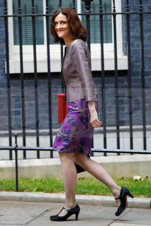 © Licensed to London News Pictures. 14/07/2015. London, UK. Northern Ireland Secretary, Theresa Villiers attending to a cabinet meeting in Downing Street on Tuesday, July 14, 2015. Photo credit: Tolga Akmen/LNP