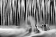 Water at weir, SIoux Narrows, Ontario, Canada