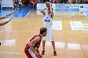 DESCRIZIONE : 3° Torneo Internazionale Geovillage Olbia Sidigas Scandone Avellino - Brose Basket Bamberg<br /> GIOCATORE : Giovanni Severini<br /> CATEGORIA : Tiro Tre Punti Three Point<br /> SQUADRA : Sidigas Scandone Avellino<br /> EVENTO : 3° Torneo Internazionale Geovillage Olbia<br /> GARA : 3° Torneo Internazionale Geovillage Olbia Sidigas Scandone Avellino - Brose Basket Bamberg<br /> DATA : 05/09/2015<br /> SPORT : Pallacanestro <br /> AUTORE : Agenzia Ciamillo-Castoria/L.Canu