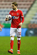 Charlton Athletic midfielder Andrew Shinnie (12) during the EFL Sky Bet League 1 match between Wigan Athletic and Charlton Athletic at the DW Stadium, Wigan, England on 2 March 2021.