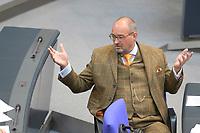 DEU, Deutschland, Germany, Berlin, 06.05.2021: Uwe Witt (AfD) in der Plenarsitzung im Deutschen Bundestag.
