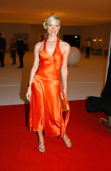 Model CAPRICE BOURRET at the Moet & Chandon Fashion Tribute 2005 to Matthew Williamson, held at Old Billingsgate, City of London on 16th February 2005.<br /><br />NON EXCLUSIVE - WORLD RIGHTS