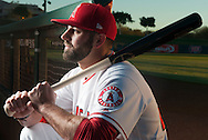Kaleb Cowart poses during the Angels' Photo Day at Spring Training in Tempe, AZ on Tuesday, February 21, 2017. (Photo by Kevin Sullivan, Orange County Register/SCNG)