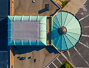 An aerial view of the Asbury Park Casino & Carousel House, built in the 1930's.