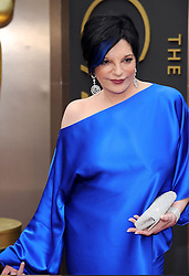Liza Minnelli arriving to the 2014 Oscars at the Hollywood and Highland Center in Hollywood, California, USA,  Sunday, 2nd March 2014. Picture by Hollywood Bubbles / i-Images<br /> UK ONLY