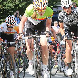 CYCLING, Huy (Belgium): The fourth race in de UCI womens worldcup Fleche Walonne; Anna van der Breggen