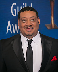 February 17, 2019 - Beverly Hills, California, U.S - Cedric Yarbrough in the red carpet of the 2019 Writers Guild Awards at the Beverly Hilton Hotel on Sunday February 17, 2019 in Beverly Hills, California. ARIANA RUIZ/PI (Credit Image: © Prensa Internacional via ZUMA Wire)