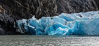Glacier Grey in Torres del Paine National Park, Chile.