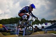 #2 (DAUDET Joris) FRA at the UCI BMX Supercross World Cup in Papendal, Netherlands.