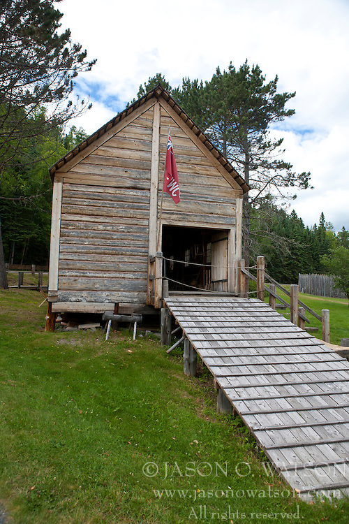 North West Company Warehouse, Grand Portage National Monument, Grand Portage, Minnesota, United States of America