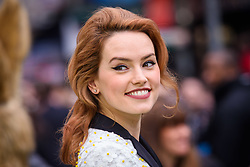 Daisy Ridley attending the gala premiere of Peter Rabbit, at the Vue West End cinema in London. Picture date: Tuesday March 6th, 2018. Photo credit should read: Matt Crossick/ EMPICS Entertainment.