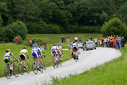Fans at hill Krvavec at 3rd stage of Tour de Slovenie 2009 from Lenart to Krvavec, 175 km, on June 20 2009, Slovenia. (Photo by Vid Ponikvar / Sportida)