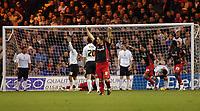 Photo: Kevin Poolman.<br />Luton Town v Queens Park Rangers. Coca Cola Championship. 11/11/2006. QPR player Gareth Ainsworth celebrates his sides 2nd goal.