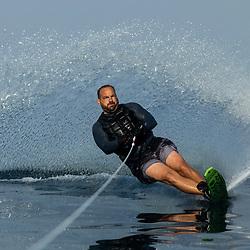 20210915: SLO, Water Ski - Water skiing in Portoroz