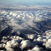 Aerial footage from an airplane from Orlando, Florida, to Memphis, Tennessee, then on to Las Vegas, Nevada. on December 19, 2012. (Photo/Alex Menendez)