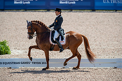 Castilla Ruiz Claudio, ESP, Alcaide<br /> World Equestrian Games - Tryon 2018<br /> © Hippo Foto - Dirk Caremans<br /> 13/09/18