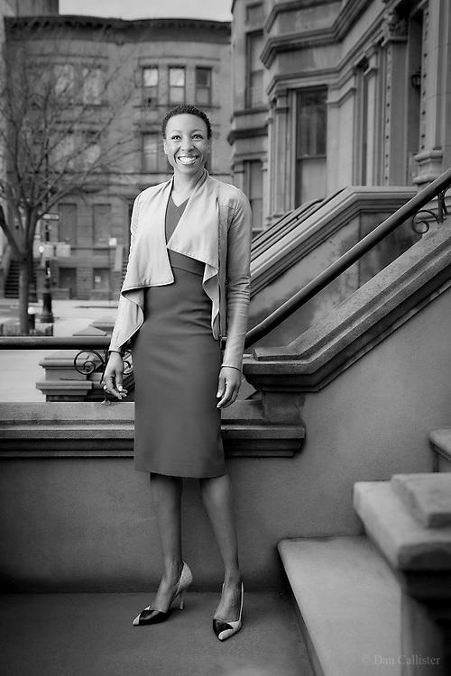 Tiffany Dufu, New York City by photographer Dan Callister