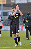 Photo: Tony Oudot/Richard Lane Photography. Bristol Rovers v Leicester City. Coca-Cola Football League One. 21/02/2009. <br /> Matty Fryatt of Leicester City applauds the fans at the end of the game
