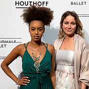 NLD/Amsterdam/20180324 - inloop première Dutch Doubles ballet, Eva Cleven en .....