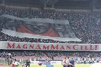 Striscione, banner <br /> Napoli 07-05-2015 Stadio San Paolo <br /> Football Calcio UEFA Europa League Semi-finals, First leg. Napoli - Dnipro.<br /> Foto Cesare Purini / Insidefoto