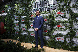 March 6, 2019 - Madrid, Spain - British actor Charlie Hunnam attends the premiere of 'Triple Frontera' of Netflix in Madrid, Spain. March 06, 2019. (Credit Image: © Borjab.Hojas/NurPhoto via ZUMA Press)