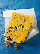 British Blue Cheese photos - Blacksticks Blue cheese from Lancashire. Funky Stock cheese photos.