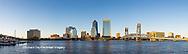 63412-01007 St. Johns River and Jacksonville Florida skyline at twilight Jacksonville, FL