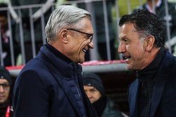 November 13, 2017 - Gdansk, Poland - Trener Adam Nawalka (POL), Coach Juan Carlos Osorio (MEX)  during the International Friendly match between Poland and Mexico at Energa Stadium in Gdansk, Poland on November 13, 2017. (Credit Image: © Foto Olimpik/NurPhoto via ZUMA Press)