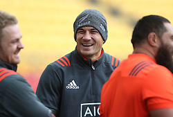 New Zealand's Sonny Bill Williams during the captain's run at the Westpac Stadium, Wellington.