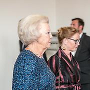 NLD/Amsterdam/20160907 - Inloop Gala van het Nationale Ballet 2016, Pr. Beatrix in prive