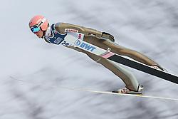 November 19, 2017 - Wisla, Poland - Dawid Kubacki (POL), competes in the individual competition during the FIS Ski Jumping World Cup on November 19, 2017 in Wisla, Poland. (Credit Image: © Foto Olimpik/NurPhoto via ZUMA Press)