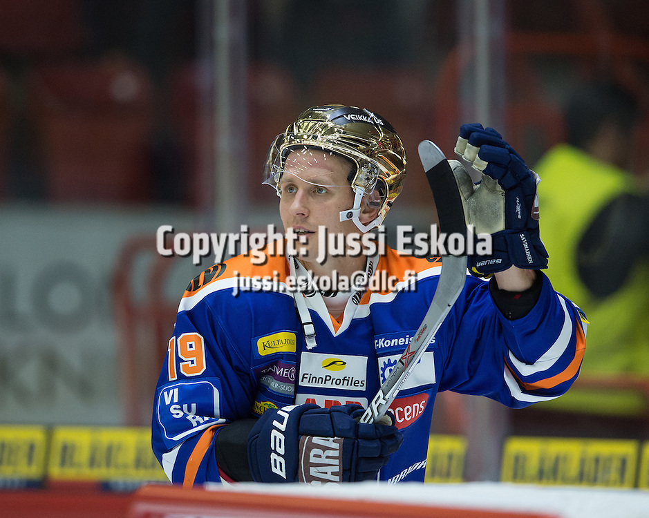 Veli-Matti Savinainen. HIFK - Tappara. SM-liiga. Helsinki. 1.10.2016. Photo: Jussi Eskola