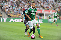 FOOTBALL - FRENCH CHAMPIONSHIP 2011/2012 - L1 - AS SAINT ETIENNE v AS NANCY LORRAINE - 13/08/2011 - PHOTO JEAN MARIE HERVIO / DPPI - PIERRE EMERICK AUBAMEYANG (ASSE)